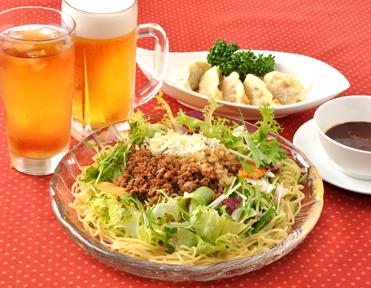 汁なしタンタン麺セット