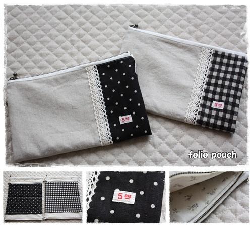folio pouch ②