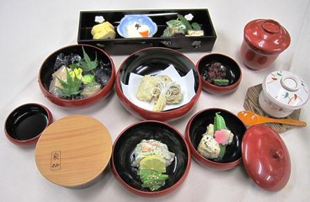 泉仙 昼食 鉄鉢料理