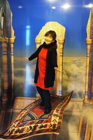 魔法の絨毯