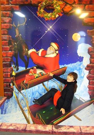サンタさんをお手伝い