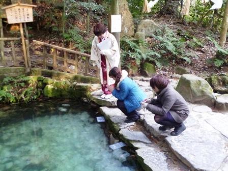 占いの池 八重垣神社
