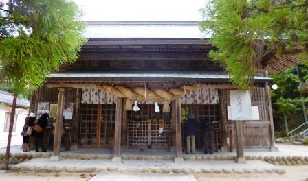 玉作湯神社 拝殿