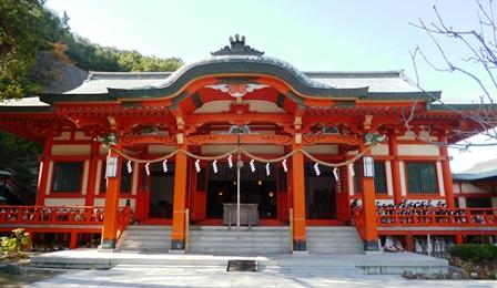 淡嶋神社 拝殿
