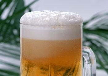 ビールで美肌効果
