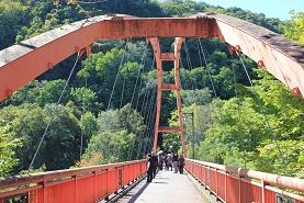 竜仙峡つり橋