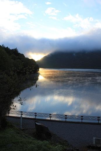 然別湖・くちびる山