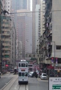 hongkongトラム