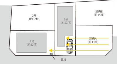 7区画土地_日当り悲観