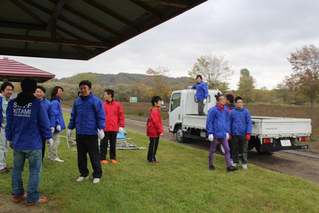 ハーフマラソン前日受付・準備 (8)