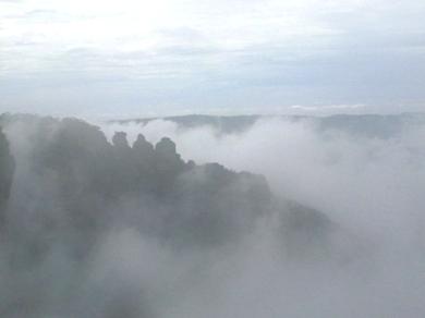 霧のスリーシスターズ