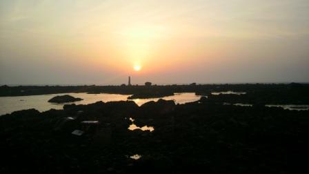 2012.05.01 フグラより朝日