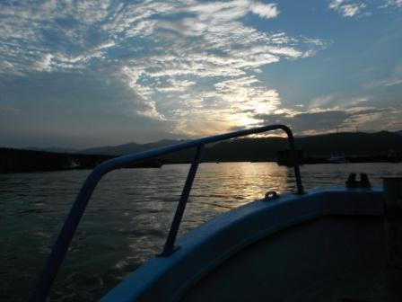 2012.08.05 釣りバカ号出船 5時