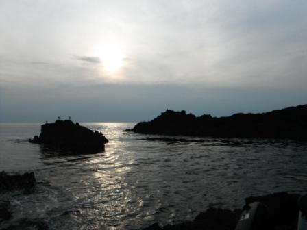 2012.09.08 エビスハナレから沖向