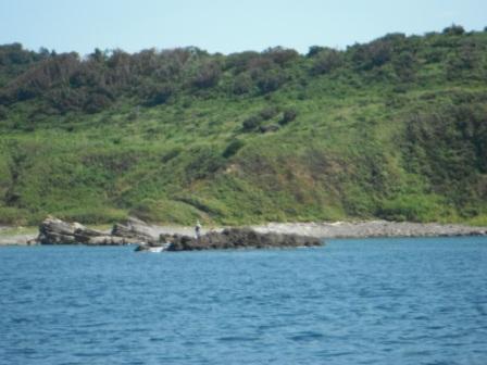 2012.09.08 黒島には見覚えのある人が・・・