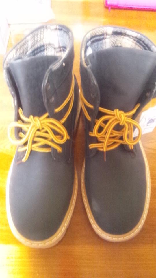 パパの豊天のブーツ
