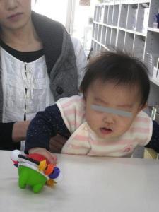 赤ちゃん顔隠し