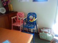 s-子供用の席