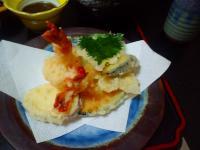 天ぷら定食天ぷら