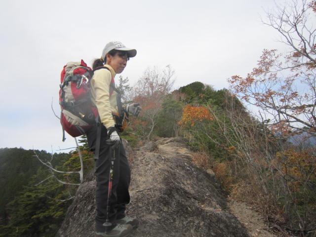 20141116痩せ尾根から明神山IMG_1185