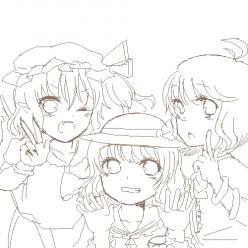 EX三人娘