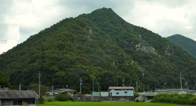 15:40天神山全景 駐車地から眺める