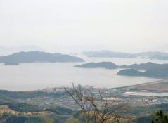 瀬戸内海の眺め