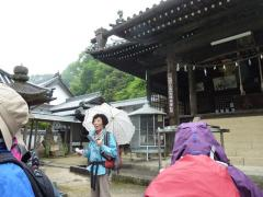 恩徳寺での実地研修