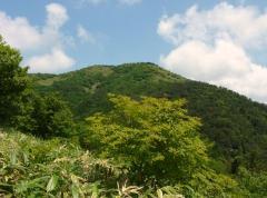 星山を眺めて・・・前山へもと寄道