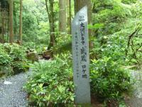 大河ドラマ 「武蔵」のロケ地 鬱蒼とした渓谷の風景
