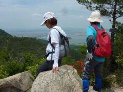 12:53 天目山からの眺望