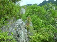 10:20 岩の稜線