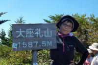 12時30分 山頂にて記念撮影