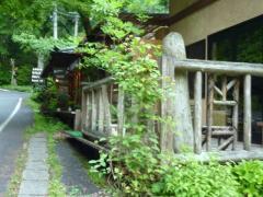 工房の喫茶店  美しい森と神庭の滝との分岐点