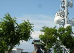 金甲山の電波塔