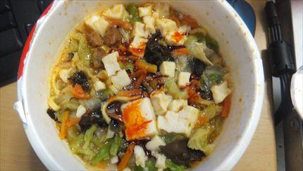 蒙古タンメン中本 カップ麺 日清食品 セブンイレブン