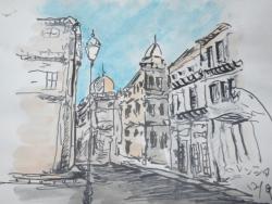 バレンシアの街角