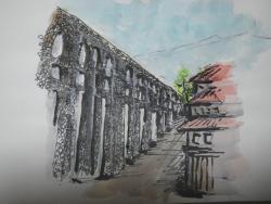 ローマ時代の水道橋