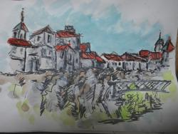 断崖絶壁の街