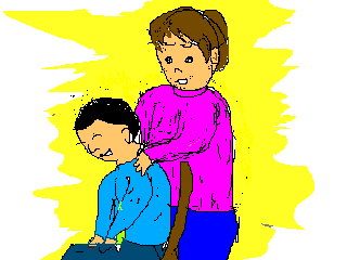 子供の肩こり