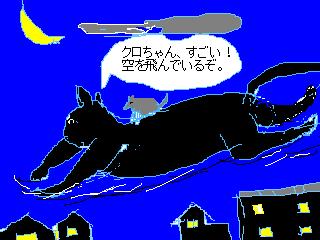 史上初の快挙、猫が空を飛んだ!