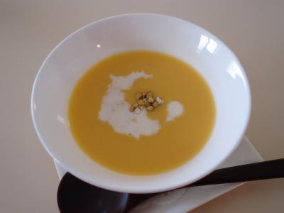 安納イモのスープ
