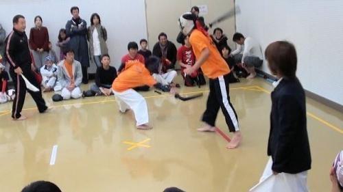 05雅VS松山 小太刀