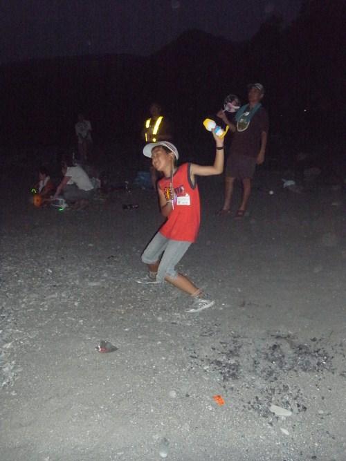 キャンプダンス