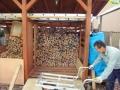 薪の搬入-2