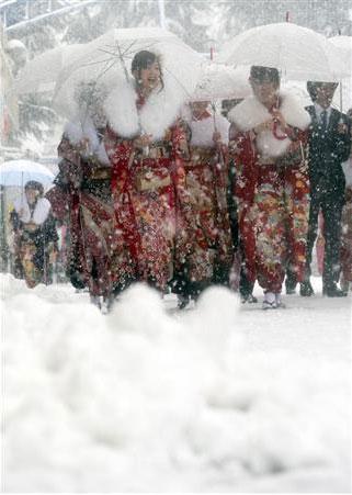 120115 成人式大雪