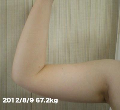 二の腕(2回め)