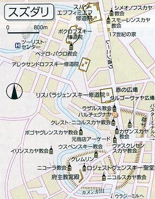 スズダリ地図