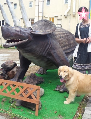 恐竜出現!