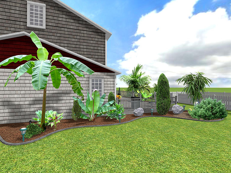 tropical backyard landscaping ideas pictures landscaping ideas